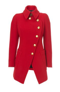 Cappotto in lana asimmetrico   Vivienne westwood