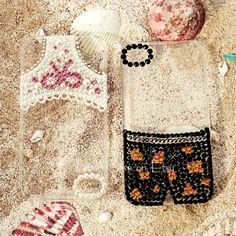 Original Cute Panties Bling Bling Phone Case for Couple