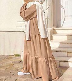 Modest Fashion Hijab, Modern Hijab Fashion, Street Hijab Fashion, Hijab Fashion Inspiration, Abaya Fashion, Muslim Fashion, Hijab Casual, Look Fashion, Hijab Outfit