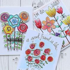 I LOVE @suzyplant flower doodles so much!! #simonsaysstamp #sssmyfavorite #flowers #doodles #papercrafts #cardmaking #stamping #handmade #card #handmadecard #watercolor #watercolouring #핸드메이드 #카드 #꽃 #꽃카드 #워터칼라 #카드메이킹 #스탬핑