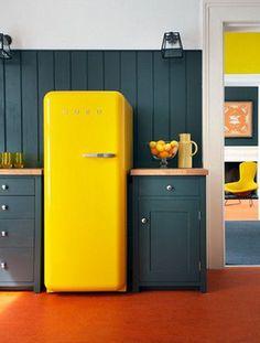 Cuisine jaune : décoration cuisine jaune