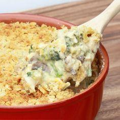 Broccoli, Cheese & Rice Casserole