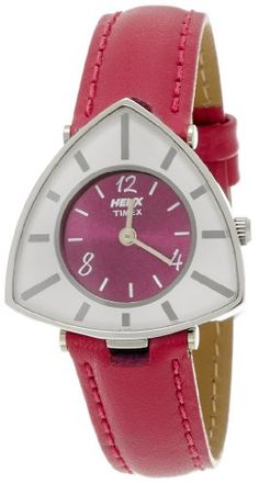 Helix Triangle Analog Pink Dial Women's Watch – TI015HL0500