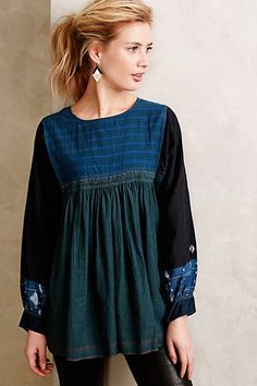 peasant blouse - anthropologie
