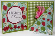 Gift card holder tutorial, cute design could be changed up for any occasion.