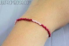 tuto diy bracelet brésilien rond