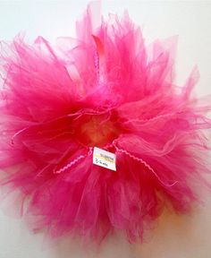 Hot pink, bubble gum childrens infant tutu size 3 months 6 months 3-6 months on Etsy, $27.50