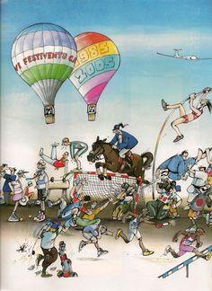 Blanchon - L'Équipe Magazine - 20 Ans de Blachon samedi 22 octobre 2005 8/8 - N° 1219