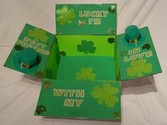 St. Patrick's day care package in the works!