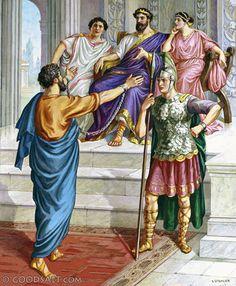 bernice king of macedonia   SomethingForSunday – The Life of Apostle Paul – Harassed At Every ...