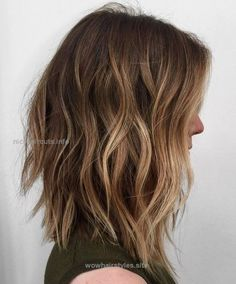Choppy Lob Hair Styles with Light Brown – Ombre Balayage Medium Hairstyles 201… http://www.wowhairstyles.site/2017/07/18/choppy-lob-hair-styles-with-light-brown-ombre-balayage-medium-hairstyles-201/