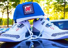 "Jordan III ""True Blue"" 2015 Releases and I like that hat"