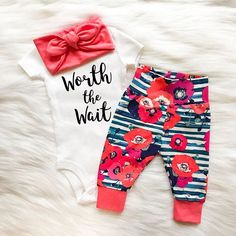 Hey, I found this really awesome Etsy listing at https://www.etsy.com/listing/540978028/baby-girl-after-long-wait #babygirloutfits