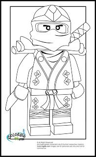 lego ninjago coloring pages to print out | LEGO Ninjago Lloyd The Green Ninja Coloring Pages | Coloring99.com