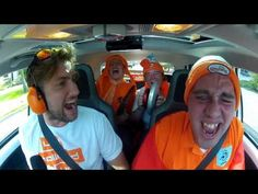 """VW """"scream powered car"""" social campaign for dutch fans to win tix to Olympics by posting fastest 100m sprint time, by screaming instead of hitting the gas."""