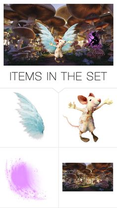 """🌸Fairy Hideout🌸"" by eguttenberg ❤ liked on Polyvore featuring art"