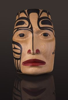 Children of the Sky Gitxsan works of Arlene Ness, First Nations and Native American artist, carver and painter.