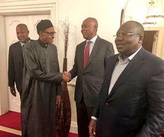 Buhari confirms Saraki Dogara visit thanks Nigerians for their prayers [PHOTOS]