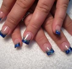 Nail Colors, Royal Blue Nail Designs: Blue nail designs