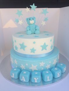 Jaylen's Baby Boy Baby Shower Cake