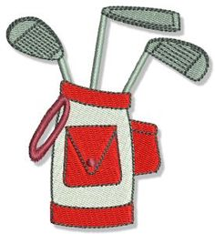 Bunnycup Embroidery | Free Machine Embroidery Designs | Golf
