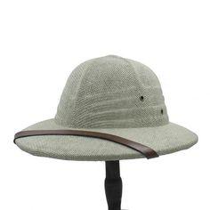01538e6a4085a Novelty Summer Men Straw Helmet Pith Sun Hats For Gentleman Vietnam War  Army Hat Dad Boater Bucket Safari Jungle Miners Cap