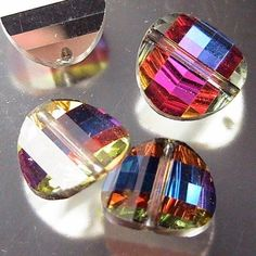 Vintage Swarovski Jewelry and Vintage Swarovski Beads--For anyone who loves jewelry, whether as a jewelry connoisseur or as a jeweler, the name Swarovski stands for the best of the best when it comes to crystals. What sets Swarovski crystal apart from all other crystal is the superior quality of cutting and polishing.