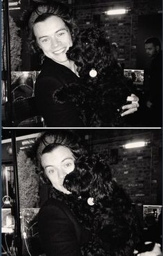Dog+Harry= Best picture ever