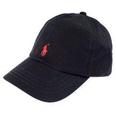 5dedf8ef2dd Black   Red Polo Hat Hats For Men