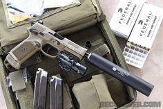 FNX-45 Tactical -  AAC Evolution and SureFire X400 Ultra