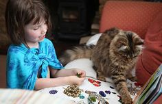 Thula the therapy cat and Autistic artist Iris Grace Iris, Autistic Artist, Son Chat, Best Friendship, Tough Day, Cat Behavior, Maine Coon Cats, 5 Year Olds, Cat Life