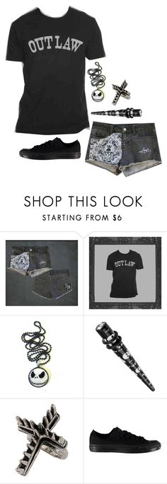 """""""☠"""" by sbeathard ❤ liked on Polyvore featuring мода, INC International Concepts, Topshop и Converse"""