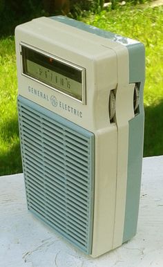 GE Transistor Radio.  I received one of these from my parents for my 10th birthday