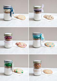 diy cookies in a jar