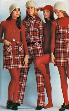 Ellie, Michelle, Karen & Linday 1970 Pandora Fashions.....who is Linday????