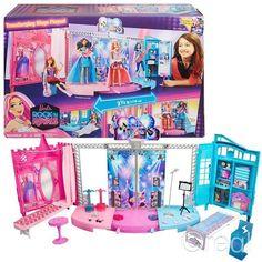 New Barbie Rock N Royals Transforming Concert Stage Playset Princess Official #Barbie