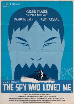James Bond Poster Art | james bond vintage fan art illustrations The Spy Who Loved Me