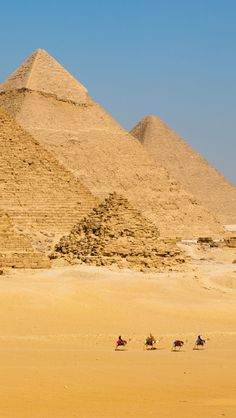 Great Pyramids, Egypt What an experience - saw them in 2010