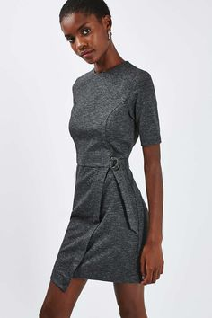 Wrap Skirt Mini Dress - Topshop