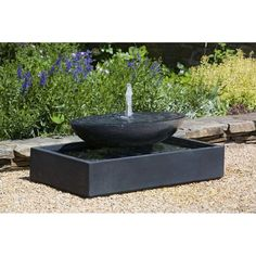 online shopping for Concrete Recife Fountain Campania International from top store. See new offer for Concrete Recife Fountain Campania International Modern Outdoor Fountains, Concrete Fountains, Modern Fountain, Garden Water Fountains, Stone Fountains, Concrete Garden, Outdoor Art, Wall Fountains, Water Gardens