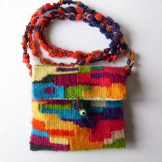 Looking for weaving project inspiration? Check out Small Woven Purse by member sibel62.