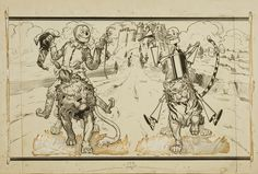 wizard of oz endpaper - Google Search
