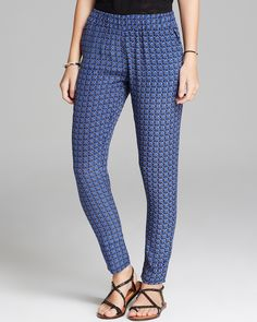 Olivaceous Pants - Geo Printed | Bloomingdale's