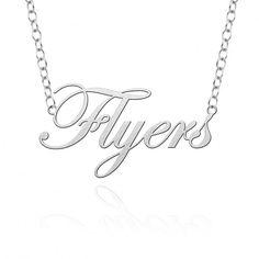 Dayton Flyers Cutout Necklace