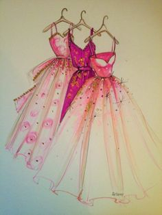 nice ORIGINAL Fashion Illustration-My Dresses by http://www.polyvorebydana.us/fashion-sketches/original-fashion-illustration-my-dresses/