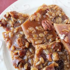Beer Bacon Brittle