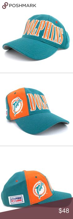 VTG Starter Miami Dolphins Snapback 🐬 Vintage Starter NFL Miami Dolphins wool  Tri-Power Construction snapback in excellent pre-owned condition. This cap  ... 2c92ba6f1159
