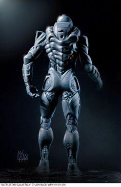 Impresionante Arte Concepto De La Battlestar Galactica usted nunca vio