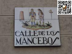 Calle de los Mancebos de la Ciudad de Madrid en España