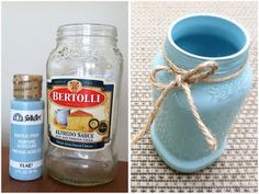 The Latest Find's Make It Create - DIY, Tutorials, Recipes, Digital Freebies: Food Jars into Spring Decor...